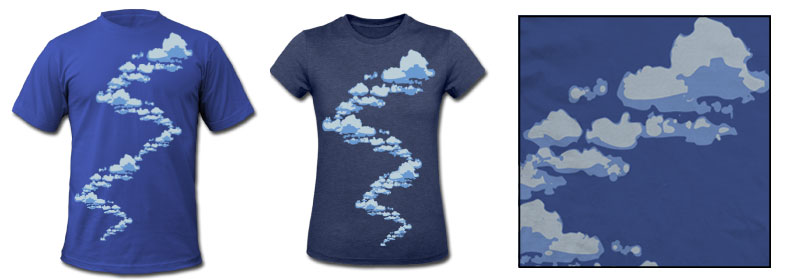Cool-Clouds-Designer-Tee